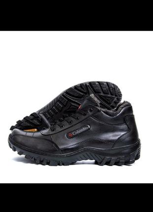 Черные кроссовки. columbia.🔥размер 45.🔥последние!