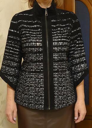 Пиджак кожаный .