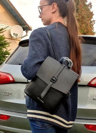 Жіночий рюкзак із еко-шкіри