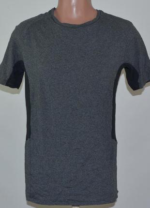 Треккинговая футболка decathlon slim (m)