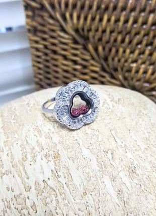 Кольцо в стиле chopard 18.0