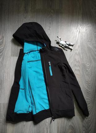 Термо куртка softshell демисезнная бомбер