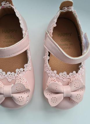 Туфельки для девочки. 22 размер
