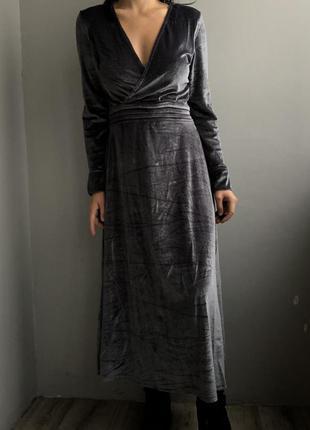 Вельветовое платье reserved