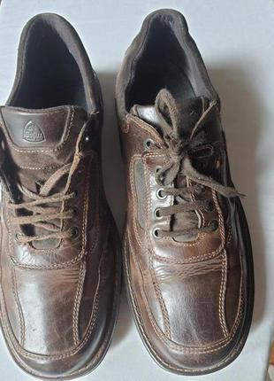 Кожаные туфли gallus австрия технология shock absorber 44 р
