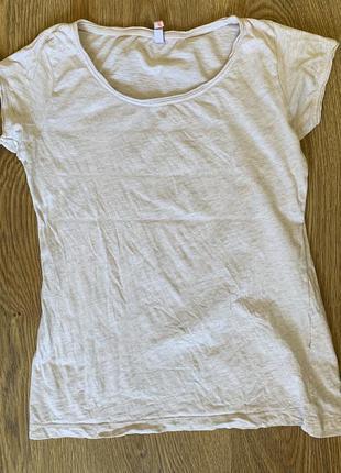 Футболка біла, світла, молочна, светлая футболка.