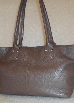 Аккуратная сумка натуральна шкіра