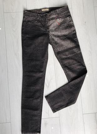 Темно коричневые брюки, коричневые штаны от brax, жіночі штани коричневі, прямі.