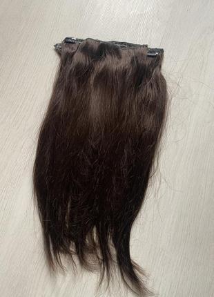 Натуральные роскошные волосы славянка на трессах