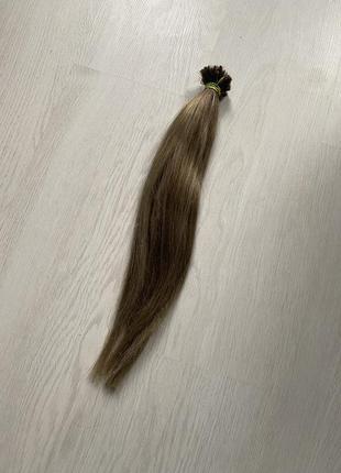 Натуральные волосы для наращивания южно русские пепельный блонд
