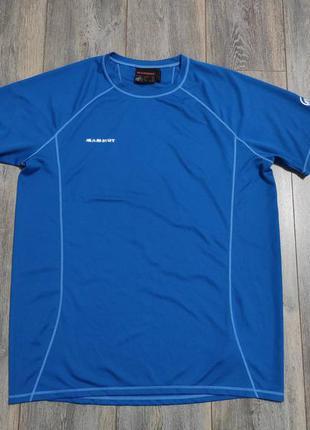 Мужская футболка mammut оригинал размер xl - xxl
