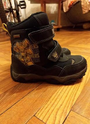 Ботинки сапоги на липучках