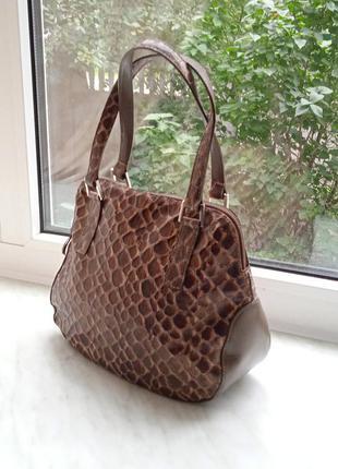 """Итальянская сумочка сумка из натуральной кожи """"sagi"""""""