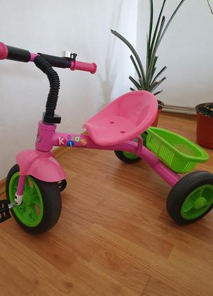 Дитячий триколісний велосипед profi kids m 3252-b