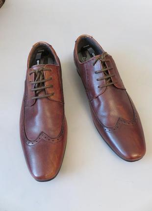 Итальянские кожаные мужские туфли emilio luka