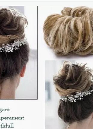 Резинка-шиньон для волос