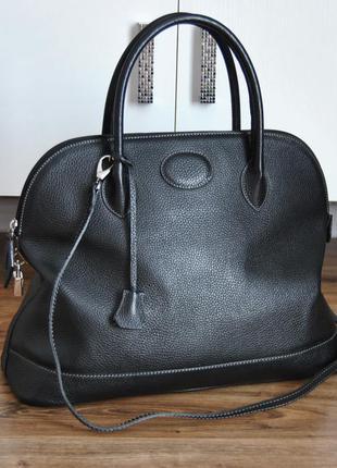Кожаная сумка maxima milano / шкіряна сумка