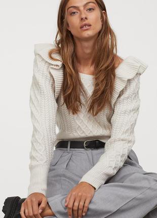 Новый джемпер, свитер, свитерок h&m. размер s