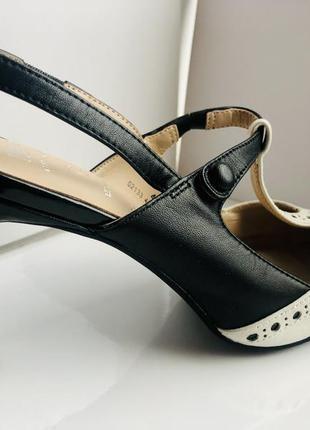 Туфли / дорогая линия m&s / кожа