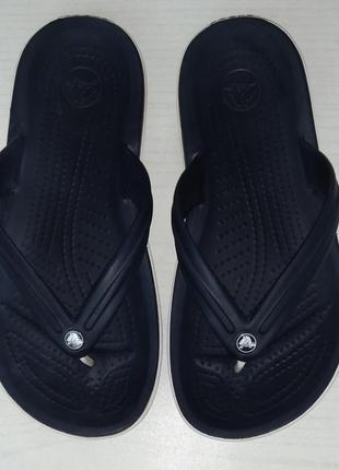 Оригинальные шлепанцы вьетнамки crocs ,m5/w7