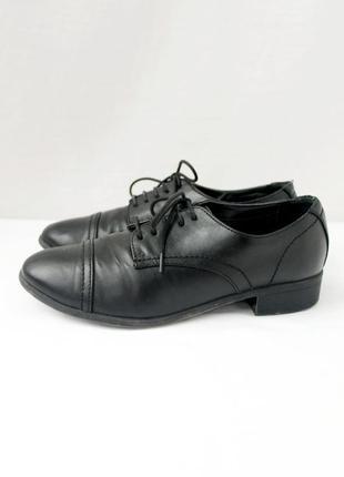 Стильные женские туфли оксфорды. размер uk5/ eur38.