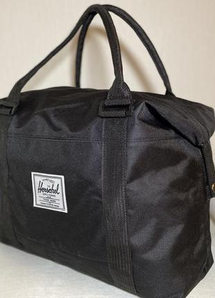 Новая черная сумка, спортивная сумка,ручная кладь