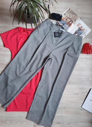 Шикарные брюки john lewis р 18. шерсть шелк сток