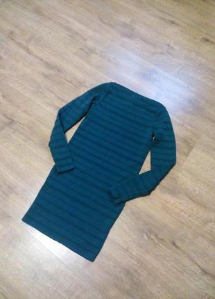 Фирменное теплое платье pull&bear