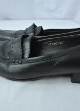 Женские кожаные туфли janet d. размер uk 5/ eur 38.