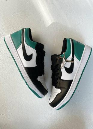 Nike air jordan retro кроссовки кожаные