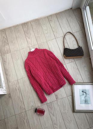 Тёплый свитер дорогой бренд marks&spencer свитер очень приятный красивый цвет