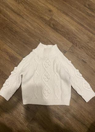 Очень красивый стильный свитер