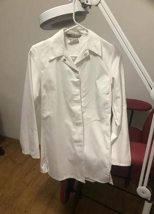 Медицинская рубашка форма халат плотный