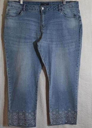 Мегаклассные стрейчевые джинсы на пышные формы  george...