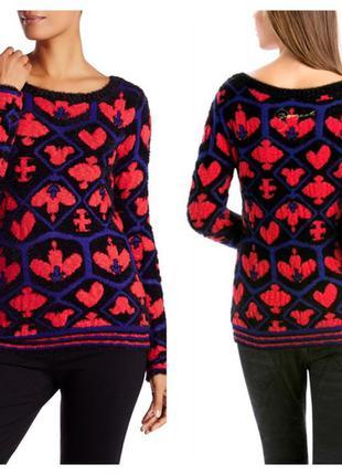 Теплый плотный пушистый свитер, р.м