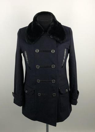 Шерстяное пальто barbour , оригинал!