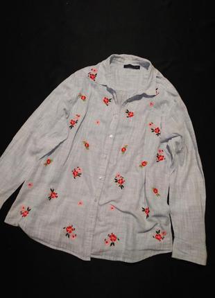 Рубашка с вышивкой вышиванка m&s