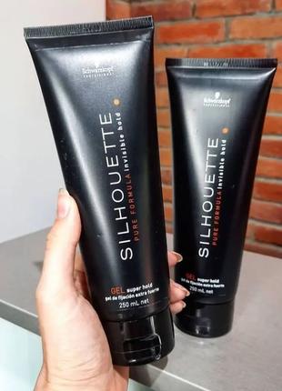 Гель для волос супер сильной фиксацииsilhouette super hold gel