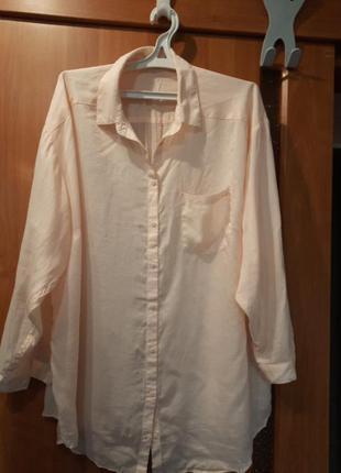 Лёгкая рубашка супер качества.р.20-24