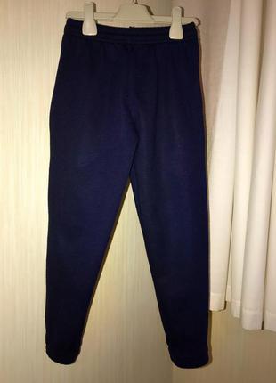 Теплі спортивні штани на вік 7-8 років