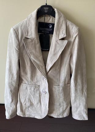Стильная куртка кожаная натуральная кожа пиджак косуха брендовый скидки недорого модный