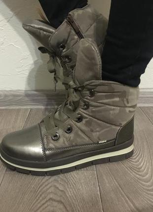 Тёплые зимние ботинки