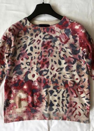 Кашемировый свободный свитер для не высоких petite. кашемир 100%