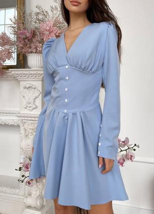 Платье с выделенным бюстье