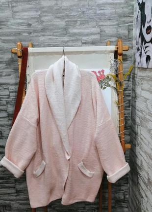 Красивая кофта пальто пиджак h&m