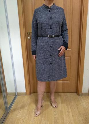 Классное тепленькое платье! р. 14