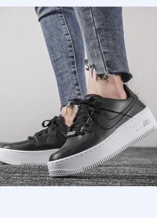 Nike air force 1 кроссовки жіночі кросівки nike wmns air force 1 sage low