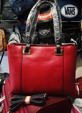 Містка жіноча сумка
