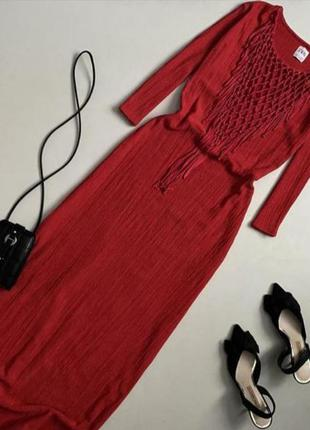 Невероятное платье макси zara