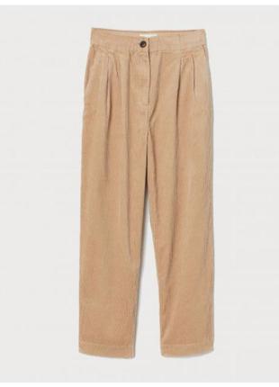 Женские вельветовые брюки слоучи бананы мом